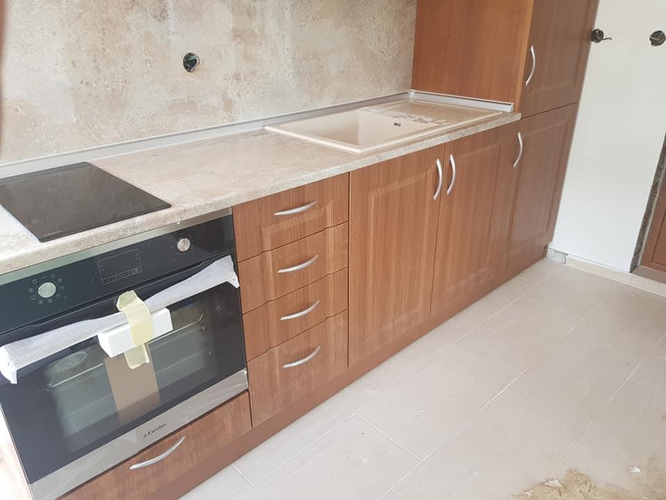 Правоъгълна кухненска мивка модел 2122 за вграждане в плот