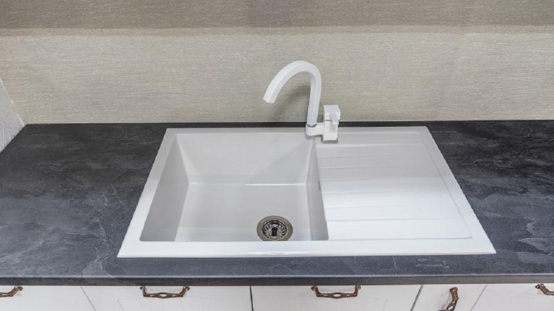 Монтирана кухненска мивка модел 2122 цвят PN 225