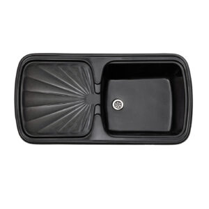 Кухненска мивка черна Томсън